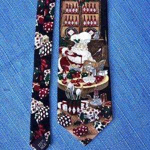 Tie by TABASCO - Santa cooks!